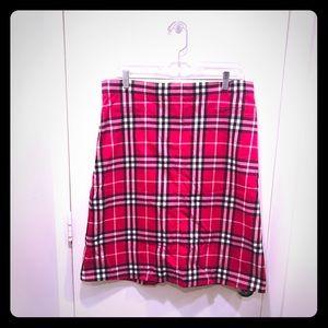 Burberry vintage pink skirt